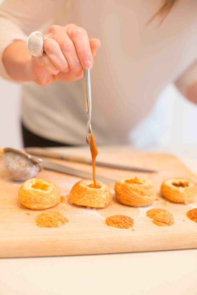 Salted Caramel Chouquettes | Butter Baking