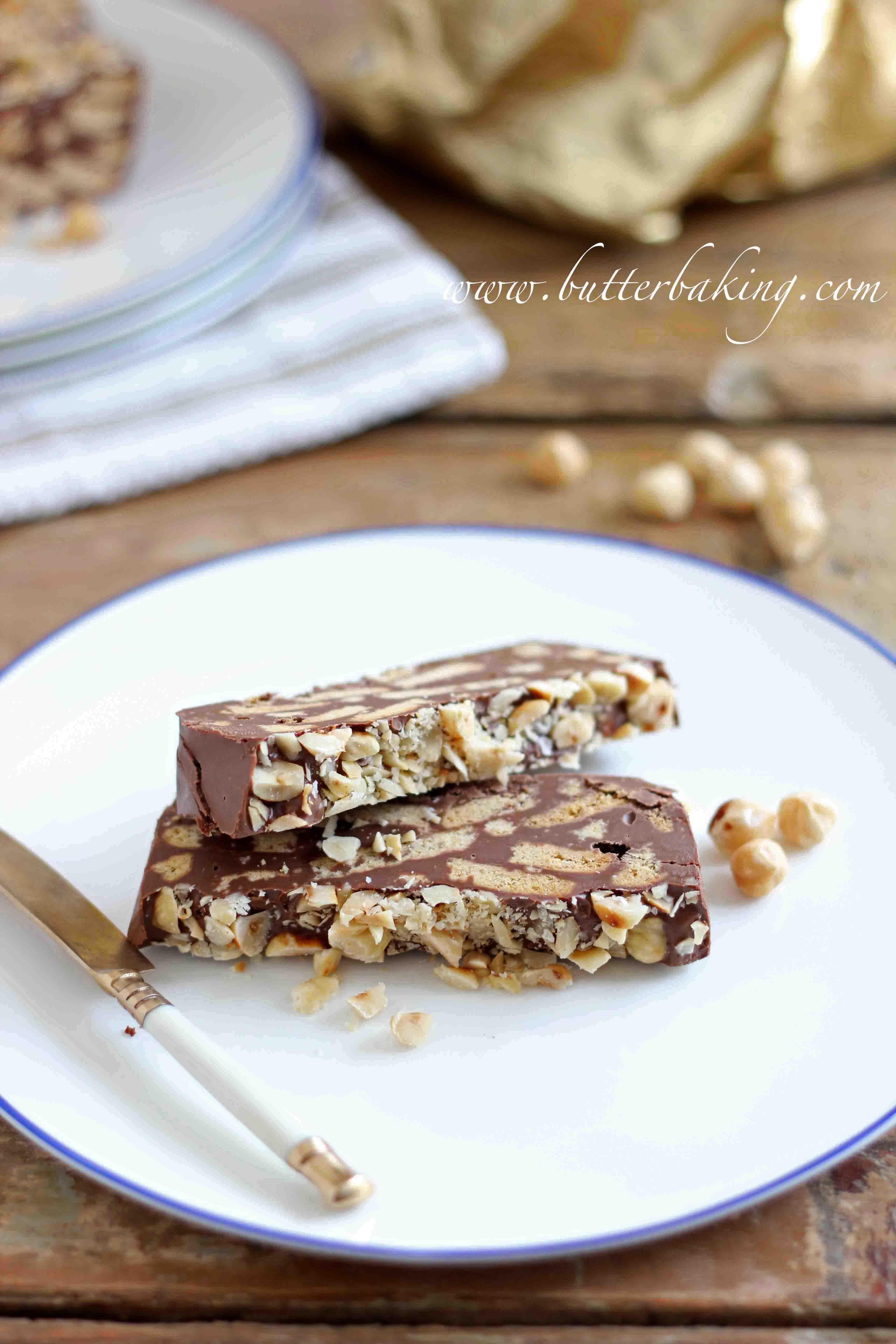 Chocolate Hazelnut Biscuit Cake – Butter Baking