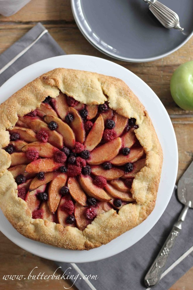 Apple and Berry Galette | Butter Baking