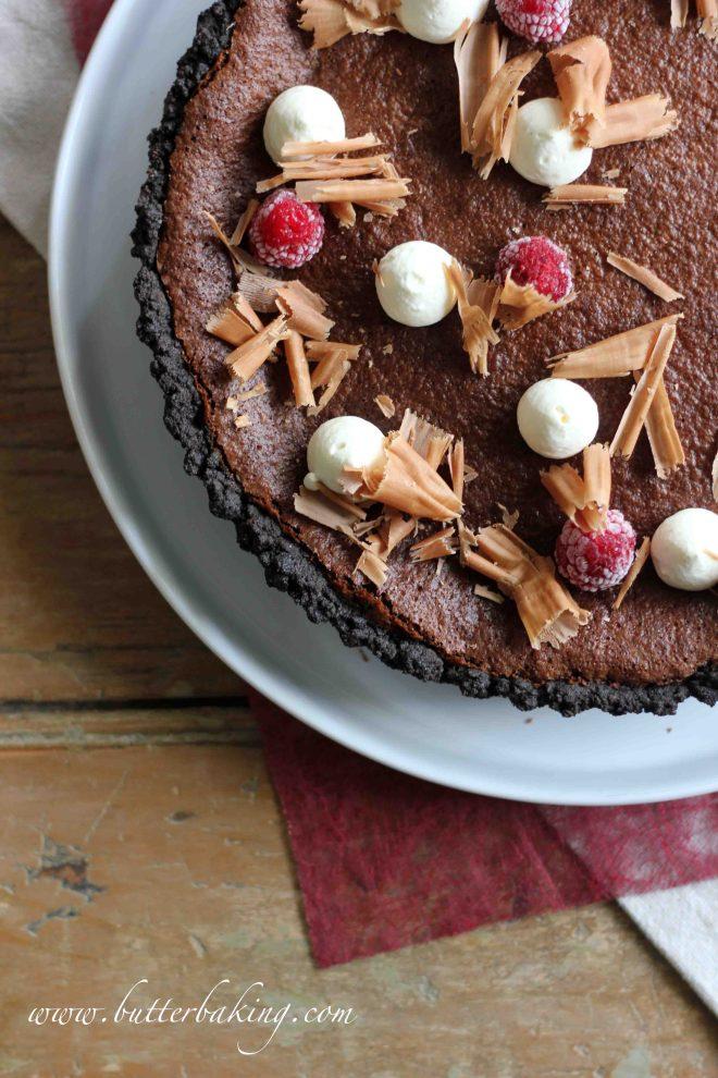 Baked Chocolate Truffle Oreo Dream Pie | Butter Baking