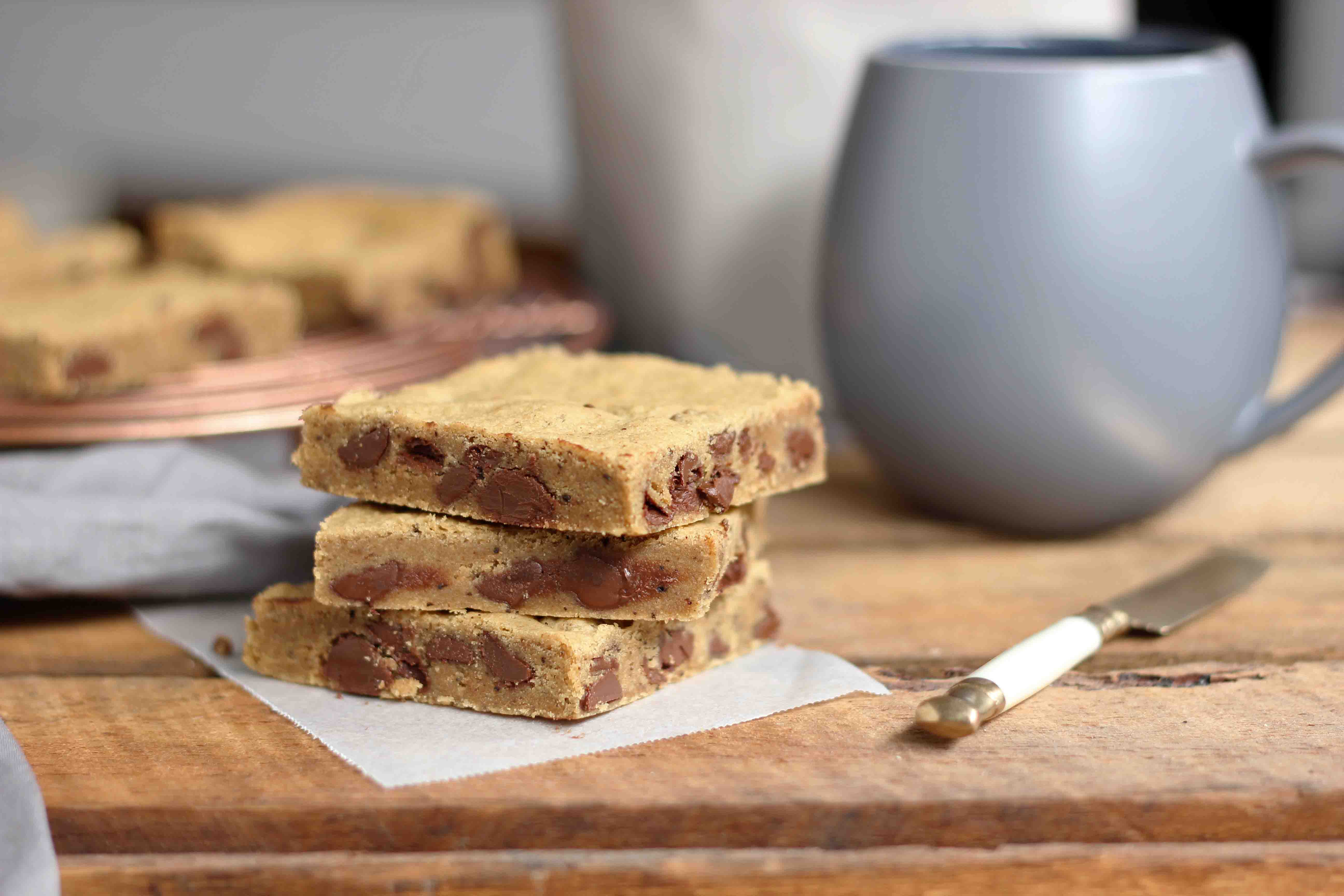 Chocolate Chip Coffee Bars – Butter Baking