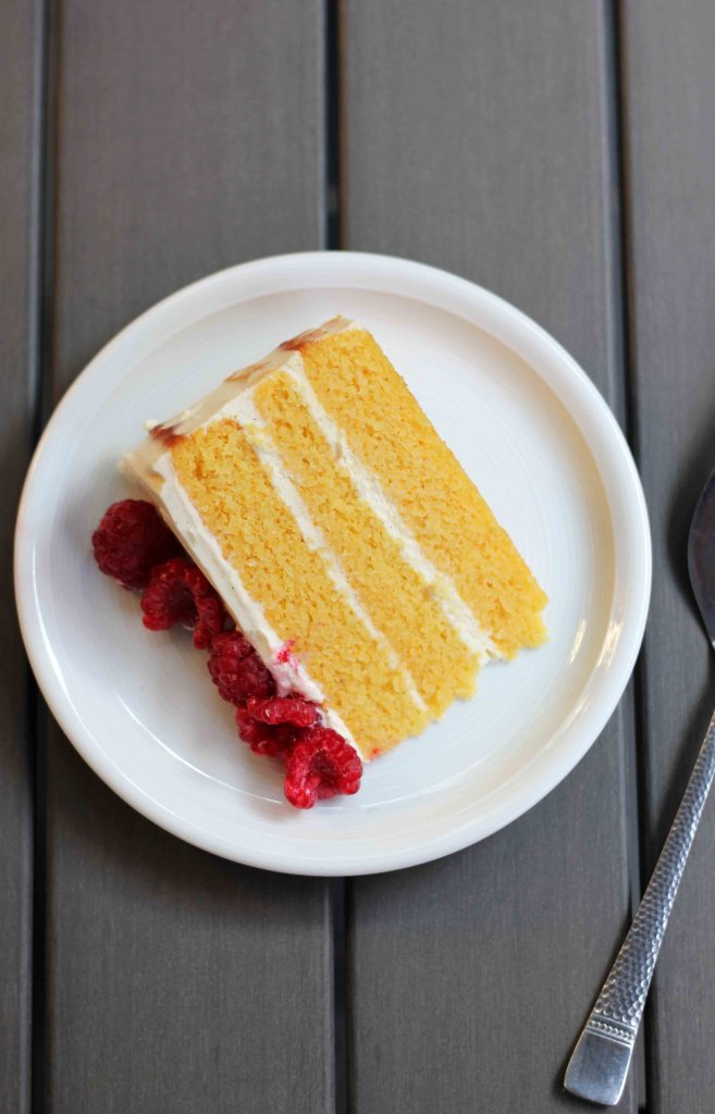 Flourless Orange, Almond and Mascarpone Layer Cake | Butter Baking