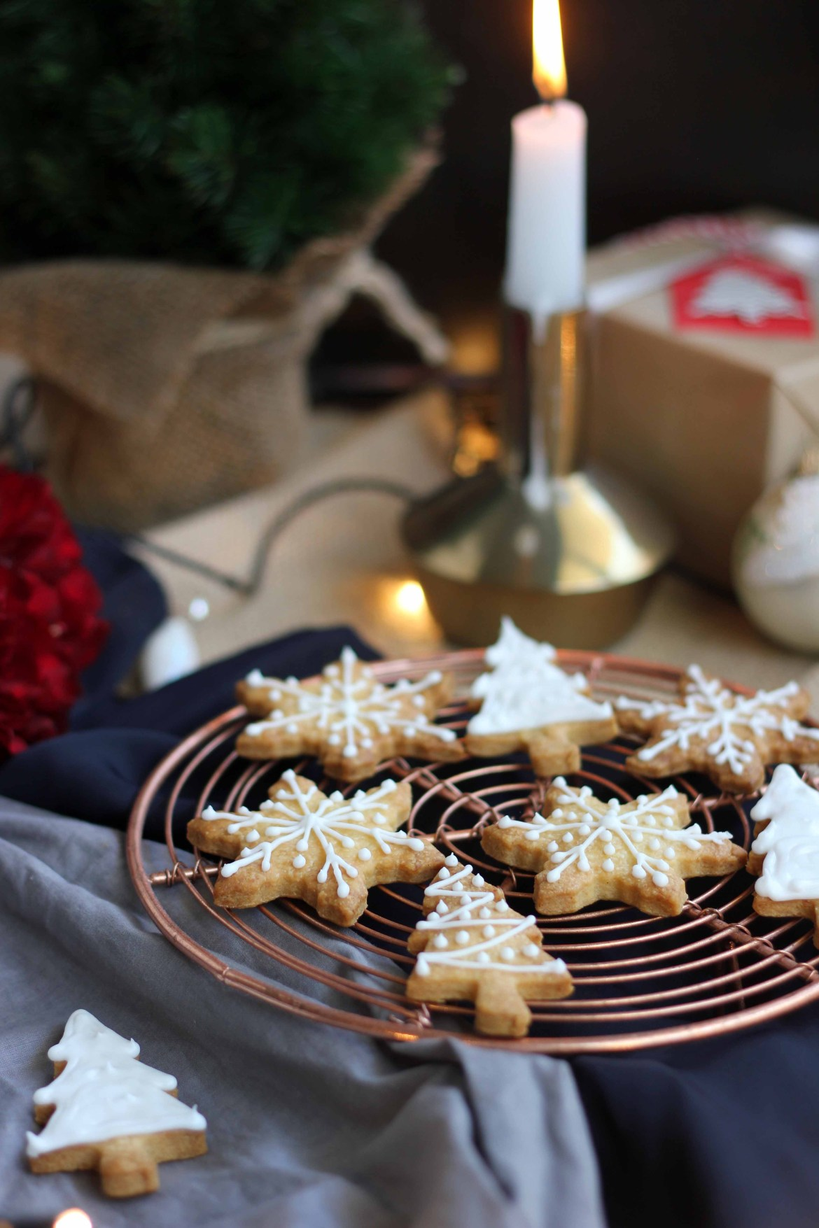 Christmas Almond Cookies | Butter Baking
