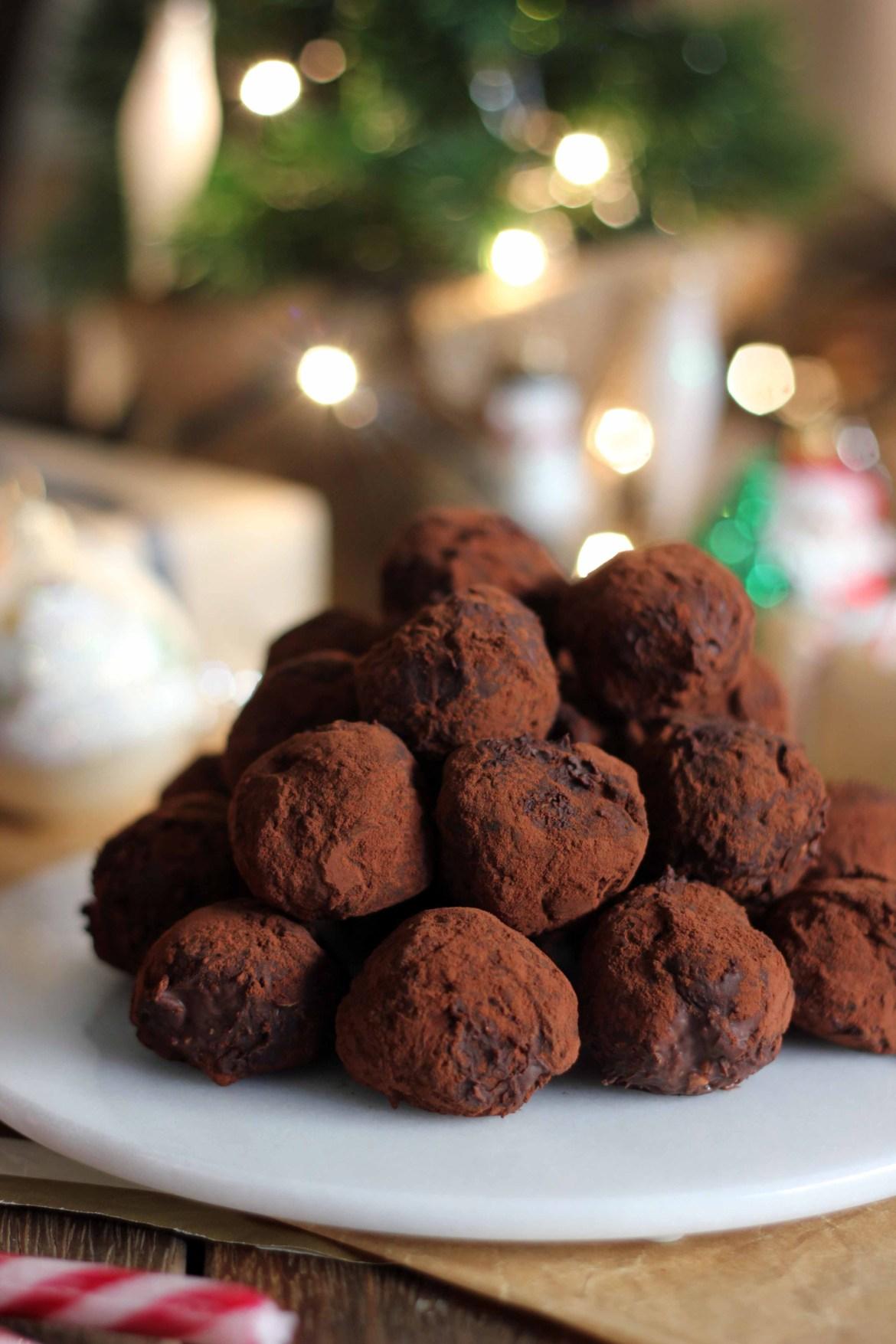 Chocolate Hazelnut Truffles | Butter Baking