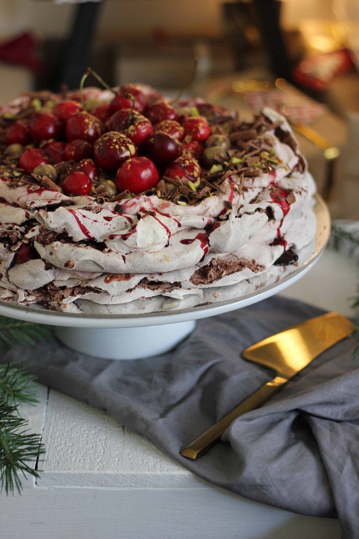 Black Forest Meringue Cake | Butter Baking