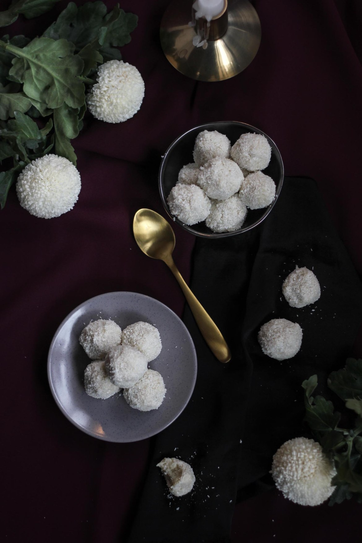 White Chocolate Coconut Raffaello Truffles | Butter Baking