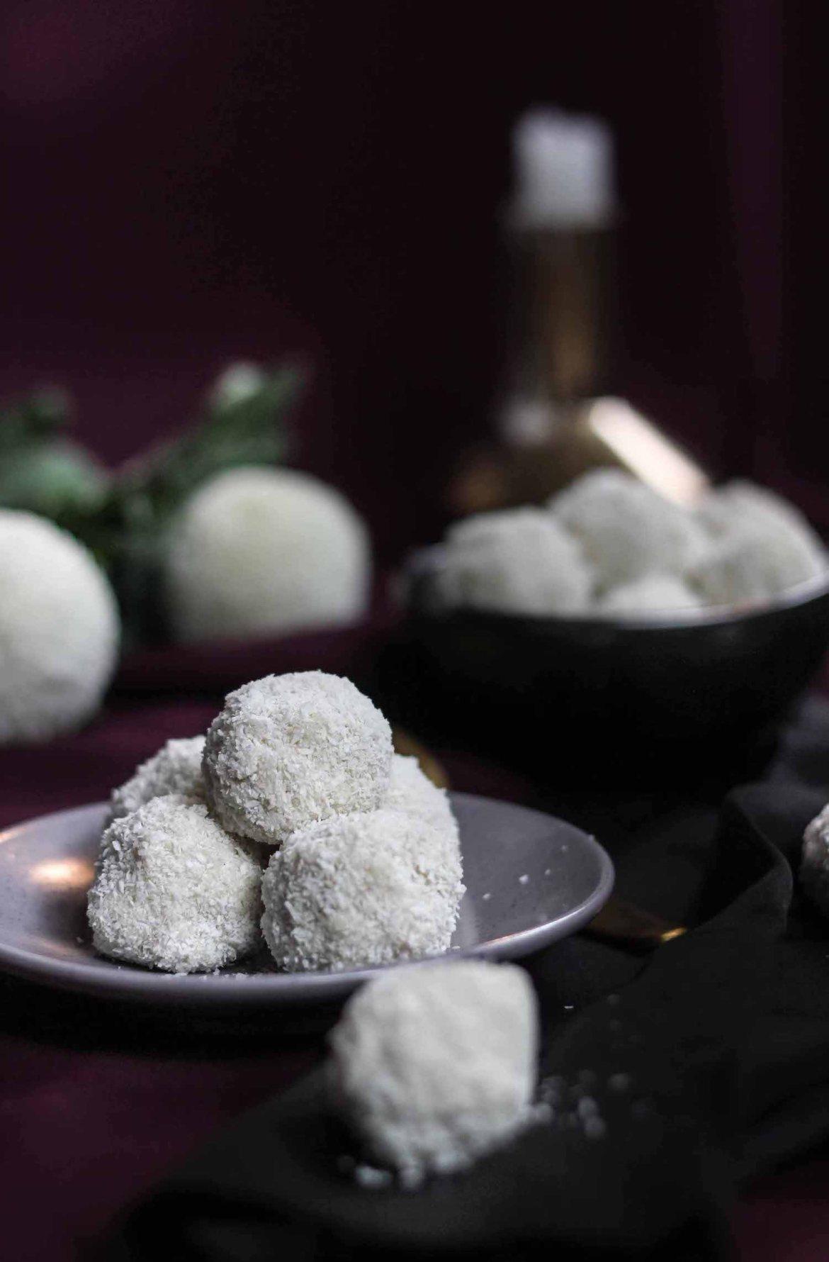 White Chocolate Coconut Raffaello Truffles   Butter Baking