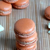 White Chocolate Pumpkin Pie Macarons