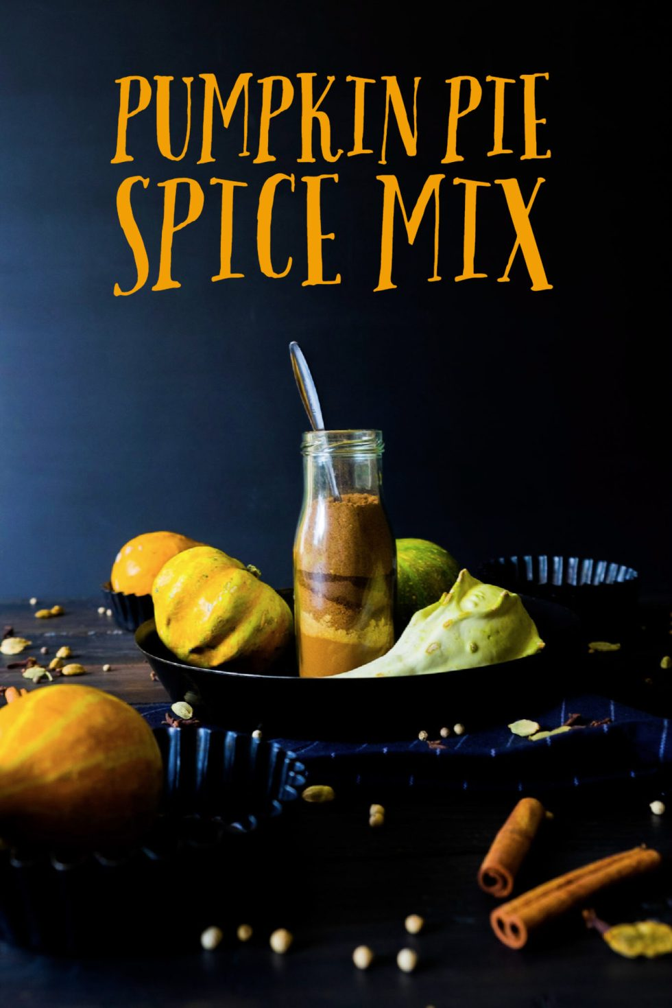 An easy pumpkin pie spice mix recipe when you don't have some on hand, want to put your old spices to use or if you just prefer to do your own spice mixes.
