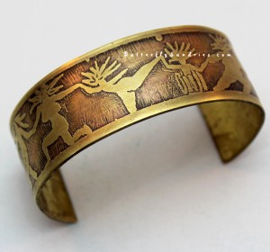 The first Dancing Women Etched Cuff sold within less than 2 weeks!