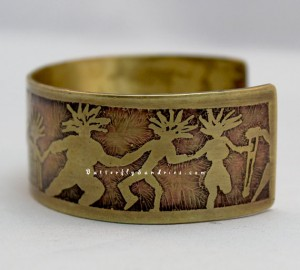 This original Butterfly Sundries etched cuff features the silhouettes of beautiful women. Embracing the beauty of all body types and including women with physical disabilities- Butterfly Sundries is dedicated to empowering all women to dance.