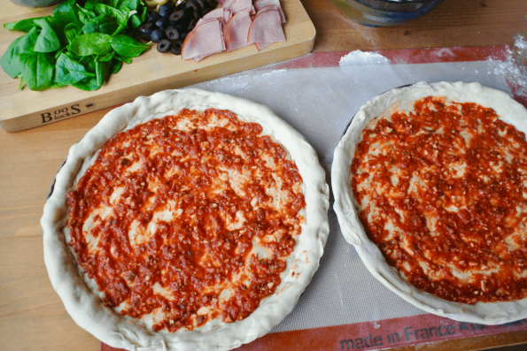 Make Your Own Sourdough Pizza And Easy Pizza Sauce