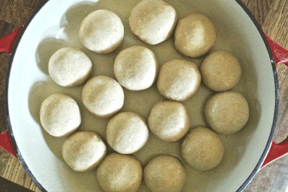 Soft, Sweet and Sharable Sourdough Honey Buns