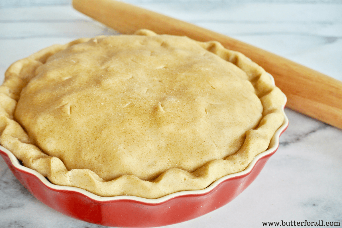 Sweet And Buttery Sourdough Pie Crust – Traditionally Fermented For A Nourished Diet