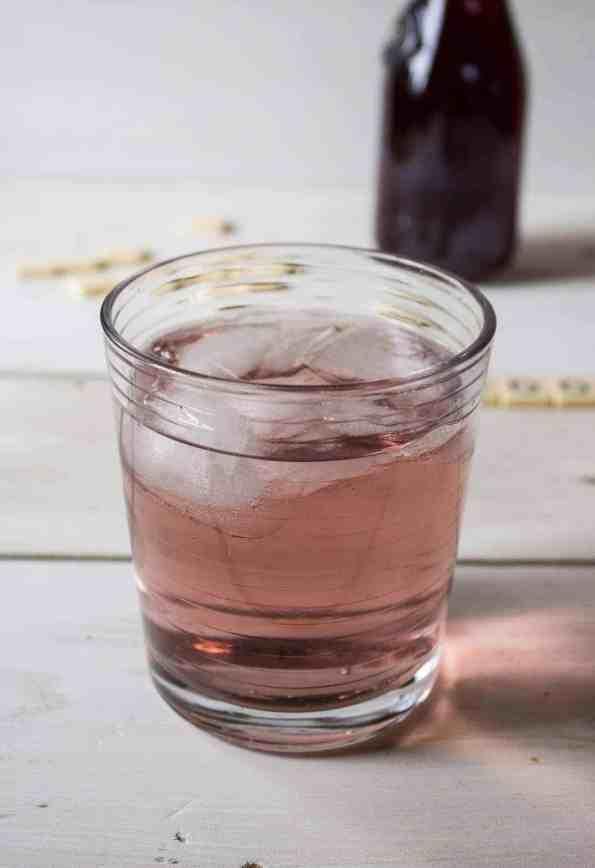 Elderberry Vodka Drink