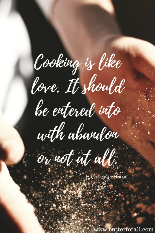 Cooking Love! #meme #realfood #quote #cooking #kitchen #butterforall