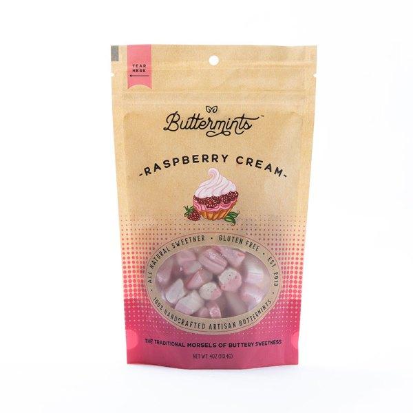 Raspberry Cream Buttermints