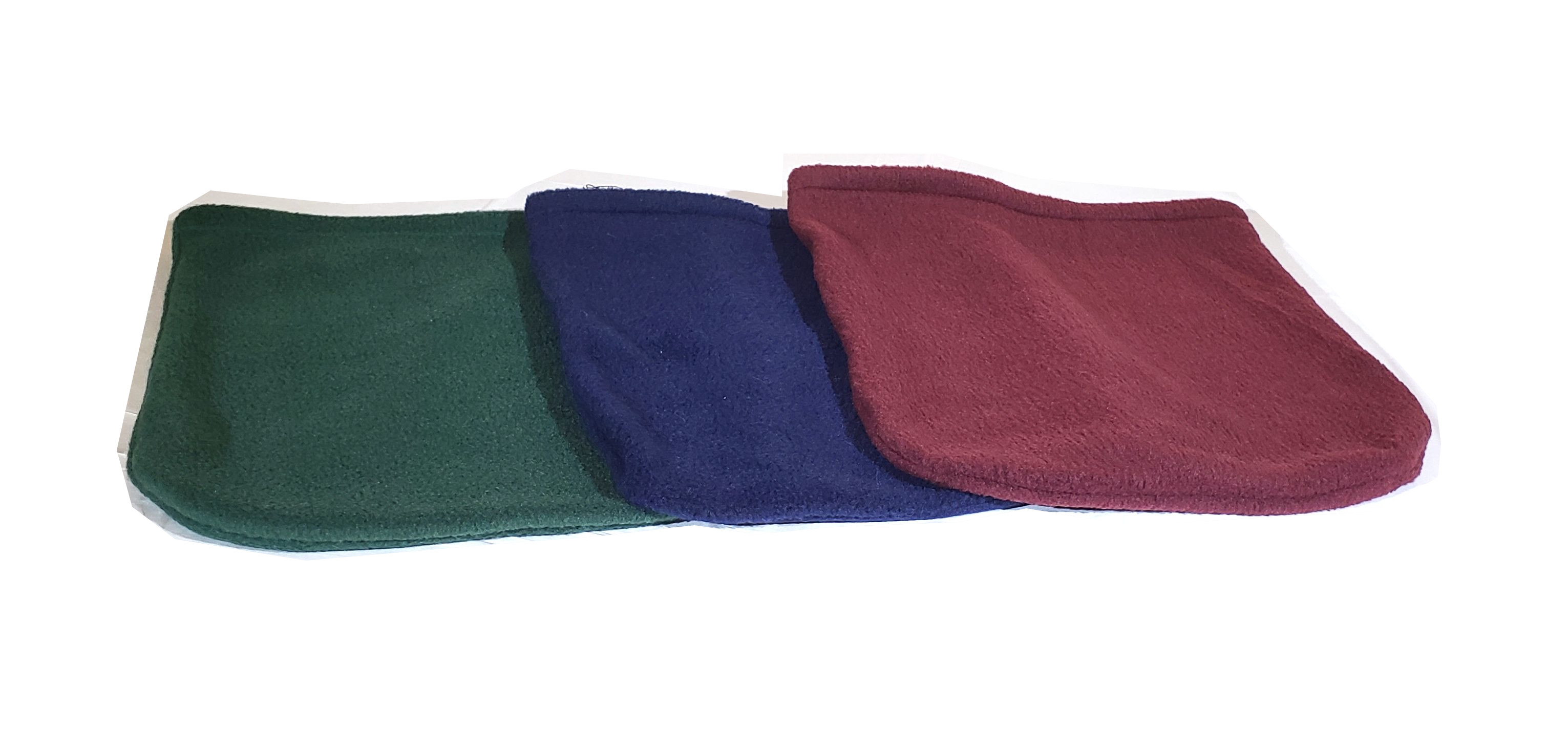 Image showing the 3 different color handicapped pet drag bags that butters brand offers