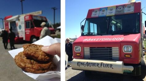 The King Arthur Flour truck