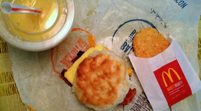 Pete finds a new love in the All-Day Breakfast at McDonald's