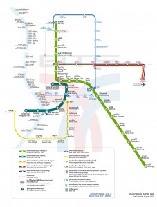 map bts mrt bangkok