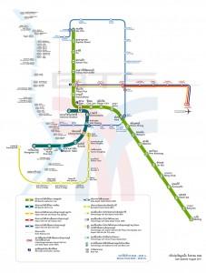 map bts mrt bangkok