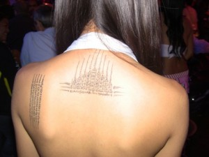 bar girl bangkok tatoo
