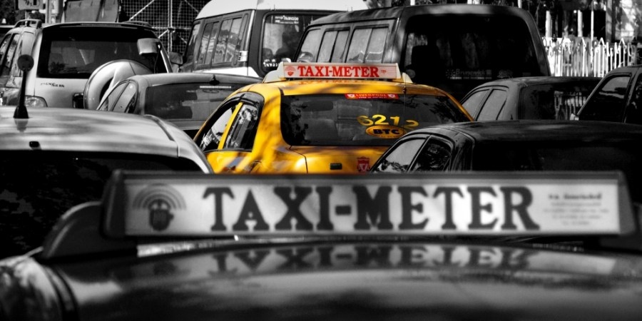 taxi meter bangkok thailande