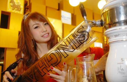 singha girl thailande