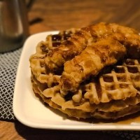 Low Carb Chicken and Waffles