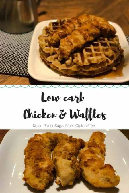 chicken and waffles long pin