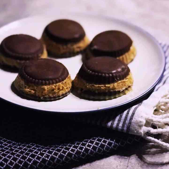 Low Carb Double Stuffed Peanut Butter Cups