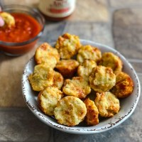 Low Carb Pepperoni Pizza Muffin Bites