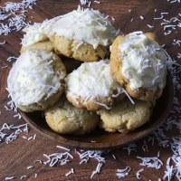 Chewy Keto Coconut Cookies