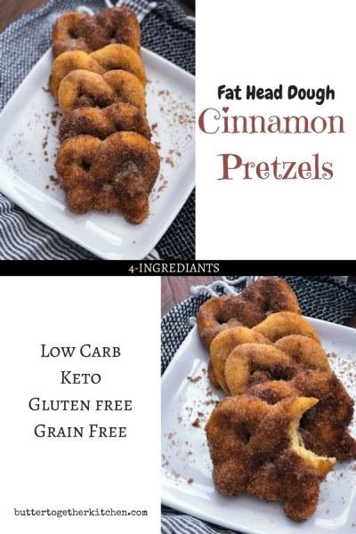 cinnamon pretzels pin for pinterest