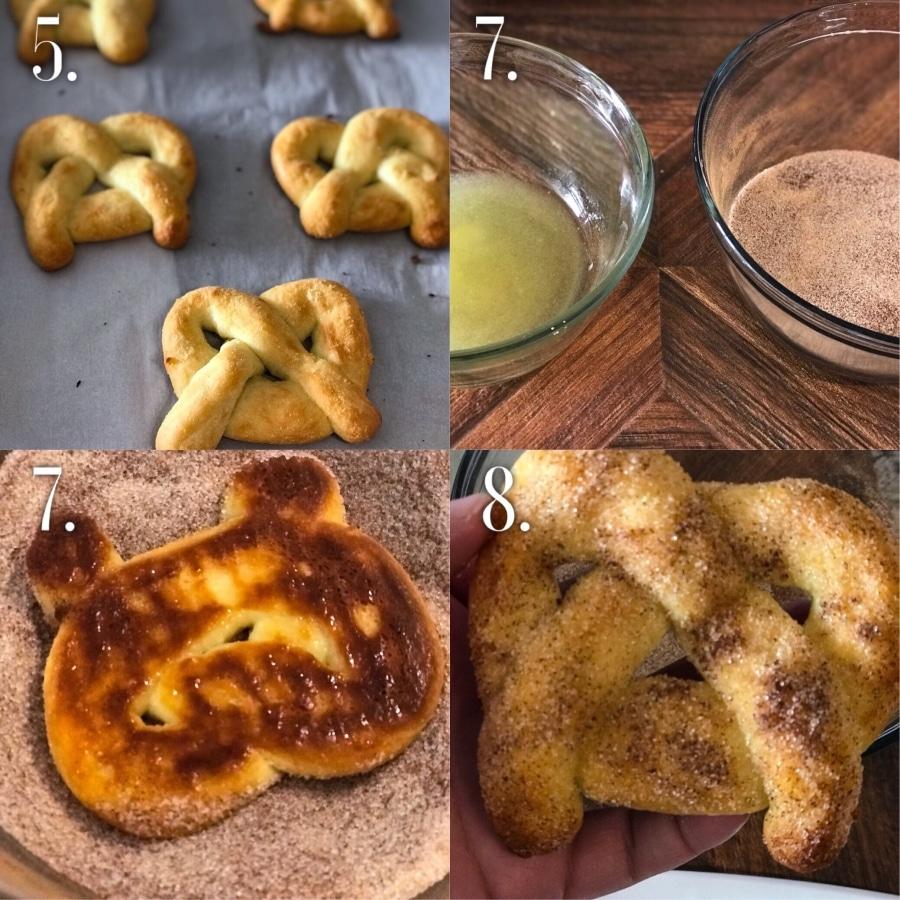 Keto Cinnamon Pretzels Step-by-Step