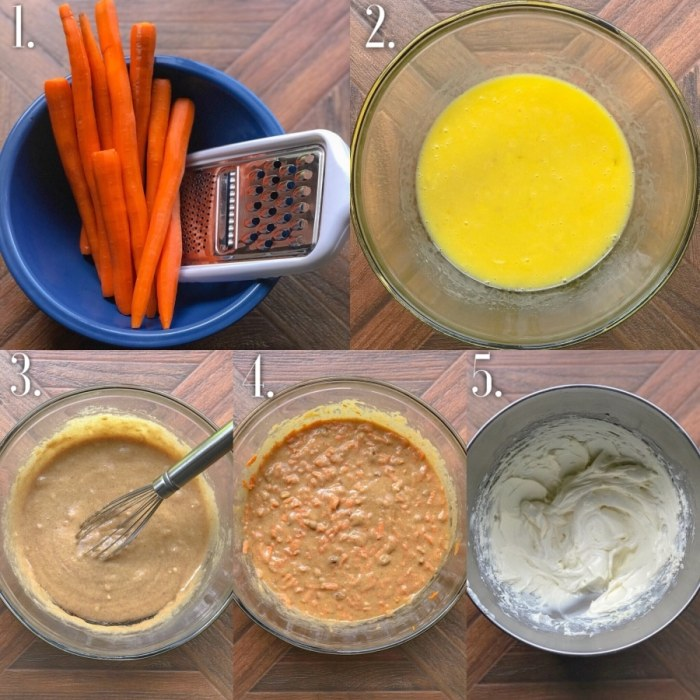 Low Carb Carrot cake Step-by-Step