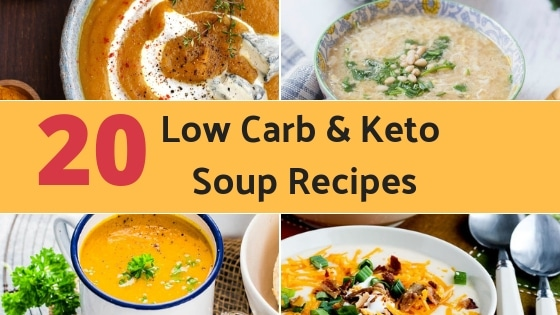 20 Easy Low Carb and Keto Soup Recipes