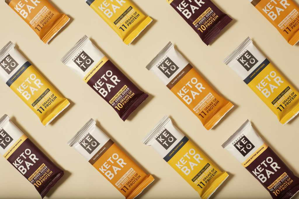 all the keto bars flavors salted side ways