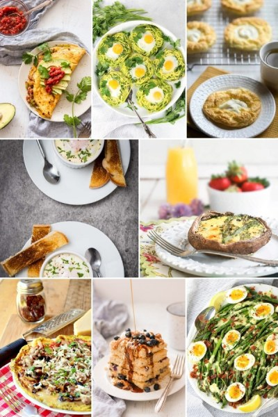 8 photo of collage of different brunch recipes