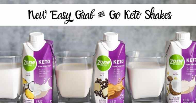 New Easy Grab and Go Keto Shakes