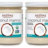 Nutiva Organic Coconut Manna, Coconut, 15 Ounce (Pack of 2)
