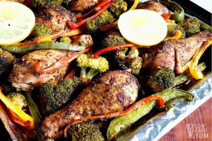 One Pan Chicken and Veggies Bake for an Easy Meal