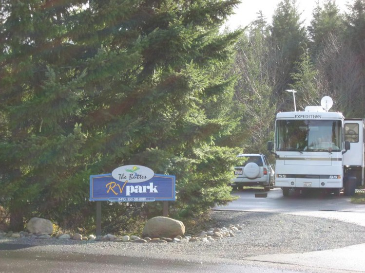 Small, quite and beautiful RV park for adults.
