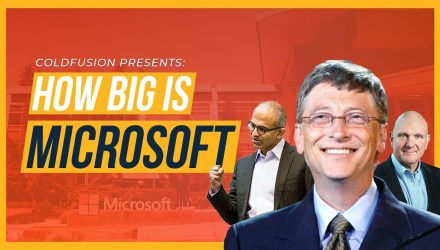 How BIG is Microsoft? | ColdFusion - technology news - buttondown.tv
