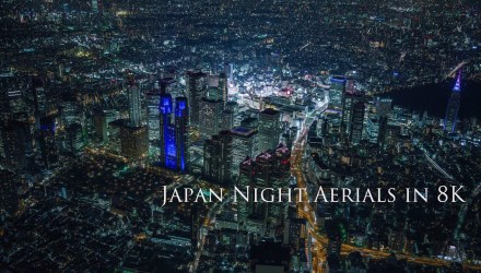 Armadas: Japan Night Aerials in 8K - travel films - buttondown.tv