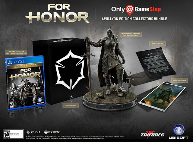 Another For Honor Collector's Edition Announced