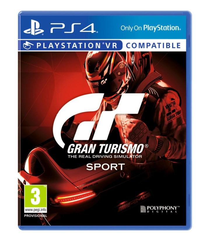 Grand Turismo Sport Release Date Announced