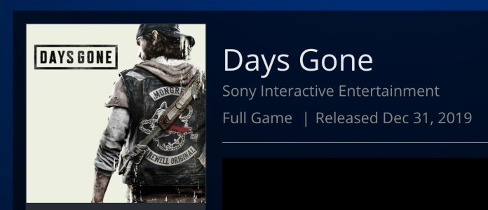 "PS4 Exclusive ""Days Gone"" Has Been Delayed"