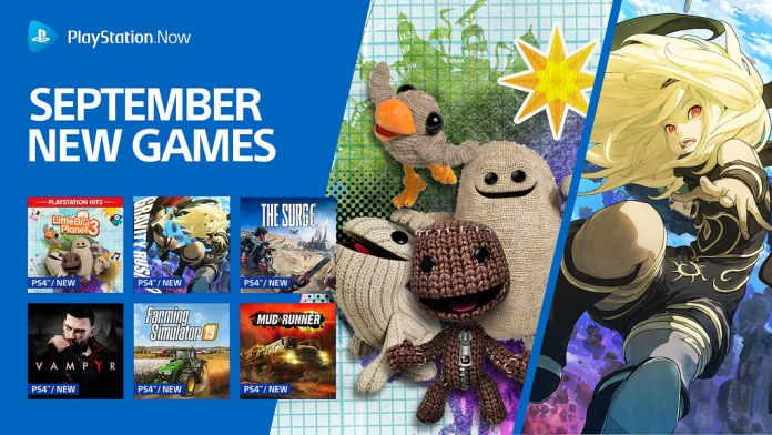Ten New Titles Coming to PS Now During September
